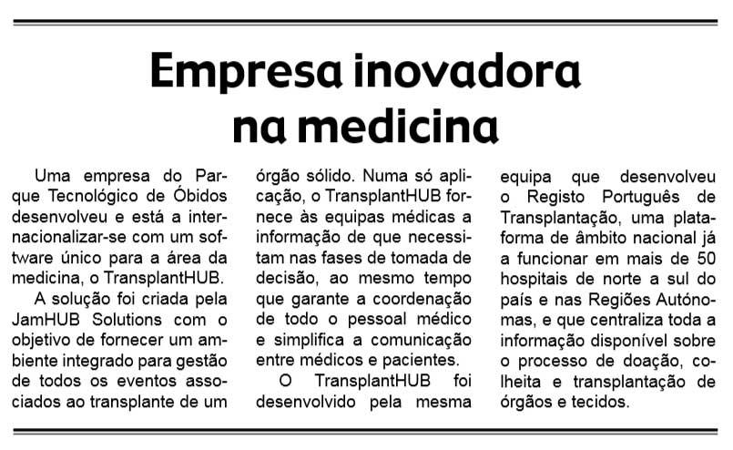 JamHUB-Solutions-desenvolve-software-para-gerir--transplantes-de-órgãos---Jornal-das-Caldas